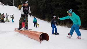 Как мина FIS World Snow Day в Snow Park Borosport