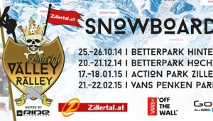 Zillertal VÄLLEY RÄLLEY hosted by Ride Snowboards 2015 - тийзър