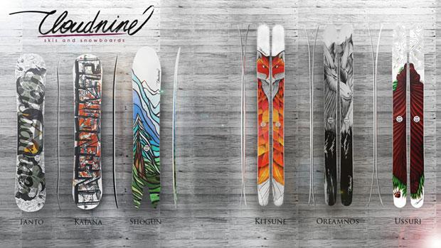 Cloudnine snowboards