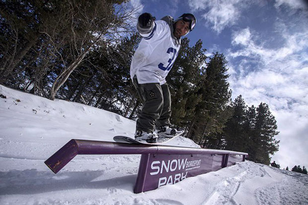 Юли Арсов от Cloudnine snowboards