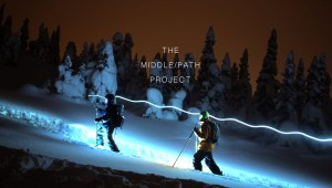 The MIDDLE/PATH Project Trailer - an EcoConscious Shred Flick