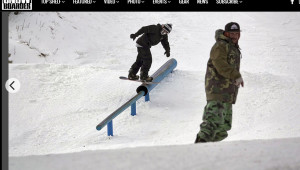 Osogovo Fun Park в Snowboarder