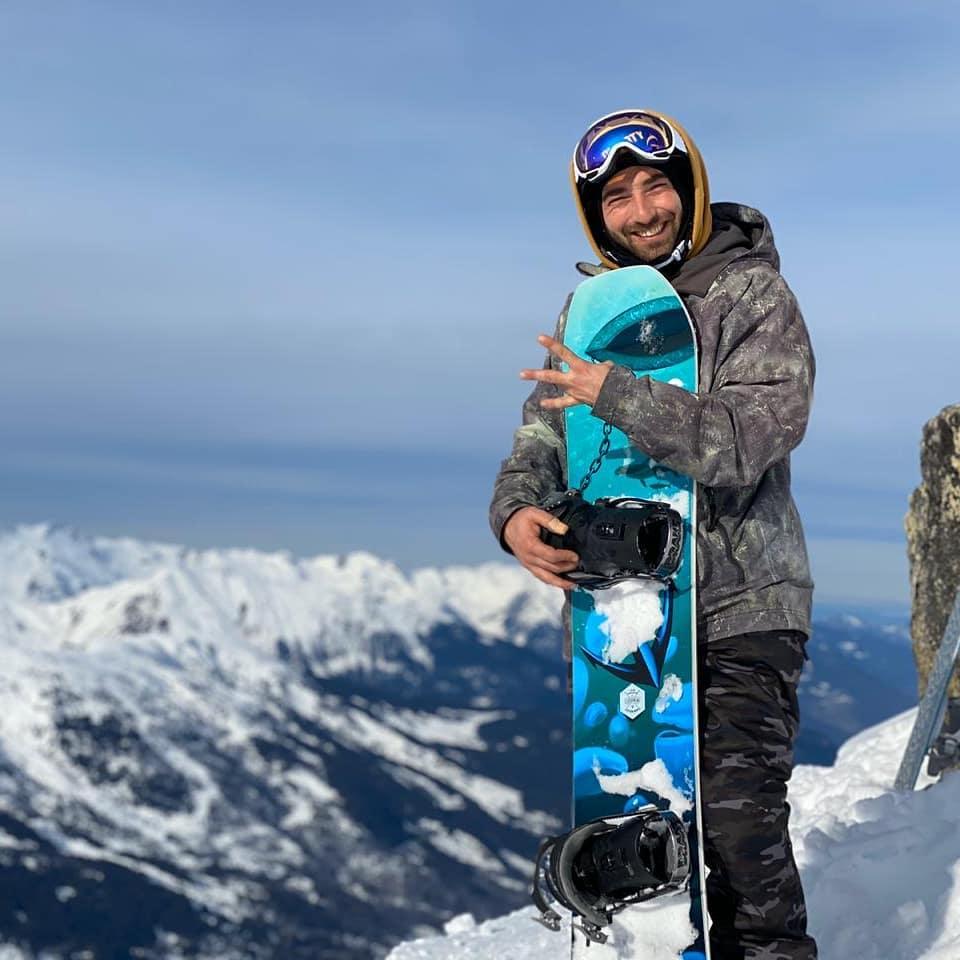 Юли Арсов с новата си cloudnine дъска