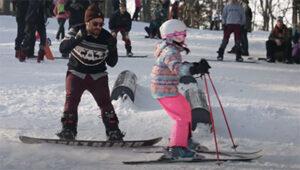 Vid Baric snowboarding 2021 - 2019